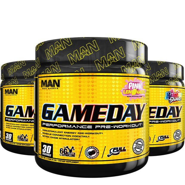 MAN Sports GameDay Pre Workout