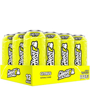 Ghost Energy Drink Citrus Mountain Dew Sprite