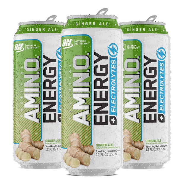Optimum Nutrition Amino Energy Sparkling Carbonated Ginger Ale