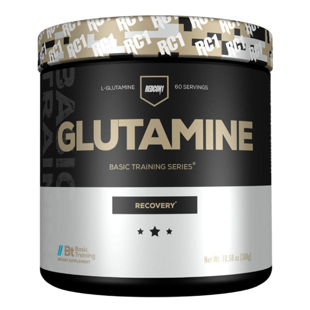 Glutamine Powder by Redcon1 Basic Training Series Supplements