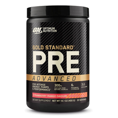 Optimum Nutrition Gold Standard PRE Advanced Strawberry Mango Daiquiri