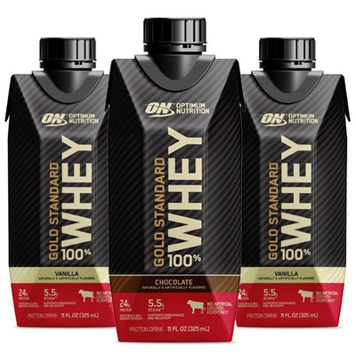 Optimum Nutrition ON Gold Standard 100% Whey Protein Shake RTD