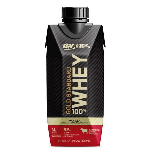 Optimum Nutrition ON Gold Standard 100% Whey Protein Shake RTD Vanilla