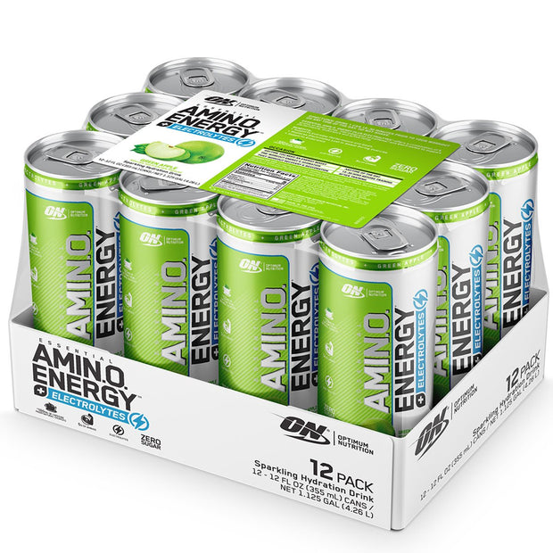 Optimum Nutrition Amino Energy Carbonated Green Apple