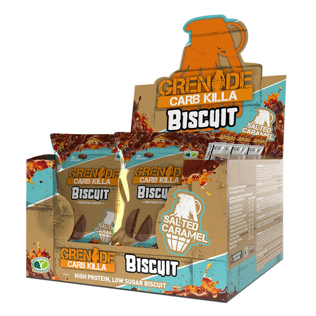 Grenade Carb Killa Biscuit Protein Cookie Salted Caramel