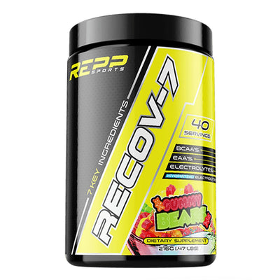 REPP Sports Recov 7 Amino Acid Supplement Gummy Bear