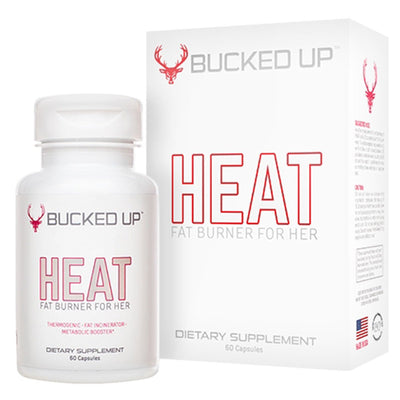Bucked Up HEAT Fat Burner for Women