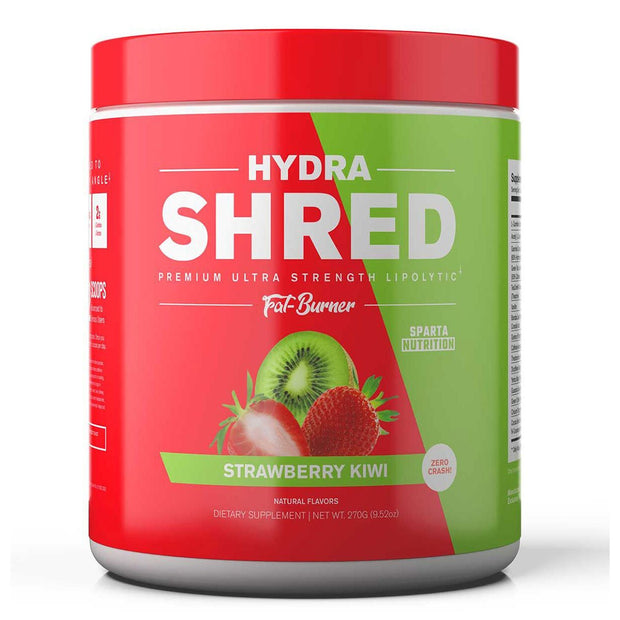 Sparta Nutrition Hydra Shred Fat Burner Strawberry Kiwi