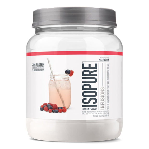 ISOPURE Infusions Fruit Protein Mixed Berry