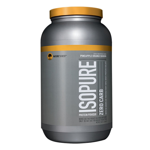 ISOPURE Low Zero Carb Whey Protein Pineapple Orange Banana