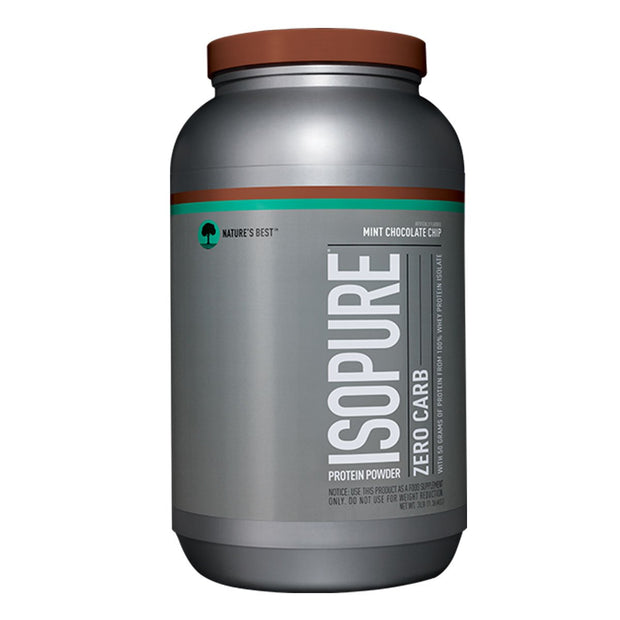 ISOPURE Low Zero Carb Whey Protein Mint Chocolate Chip