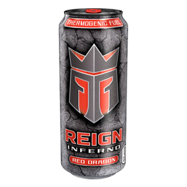 REIGN Inferno Energy Drink Fat Loss Red Dragon