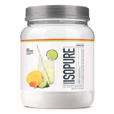 ISOPURE Infusions Protein Powder Fruit Protein Mango Lime