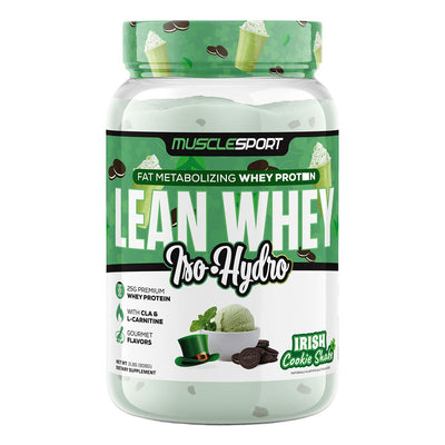Musclesport Lean Whey Protein Irish Cookie Shake