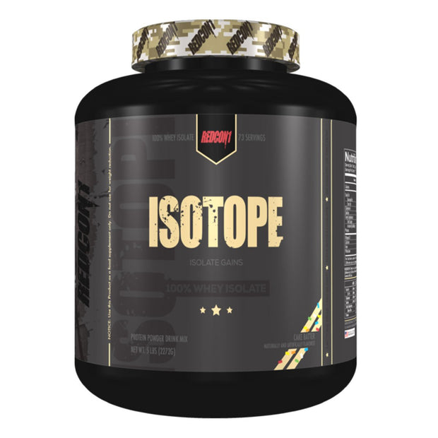 Redcon1 Isotope Whey Protein Isolate Vanilla