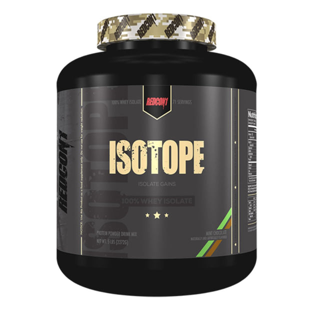 Redcon1 Isotope Whey Protein Isolate Mint Chocolate