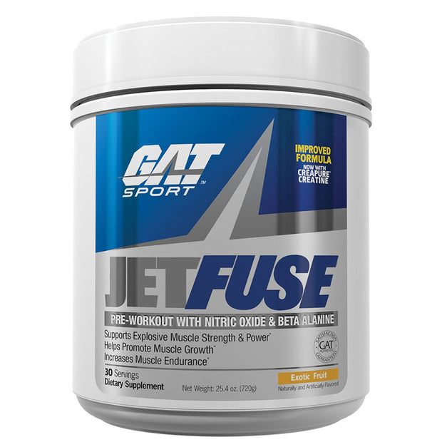 GAT Sport Jet FUSE Pre Workout Exotic Fruit