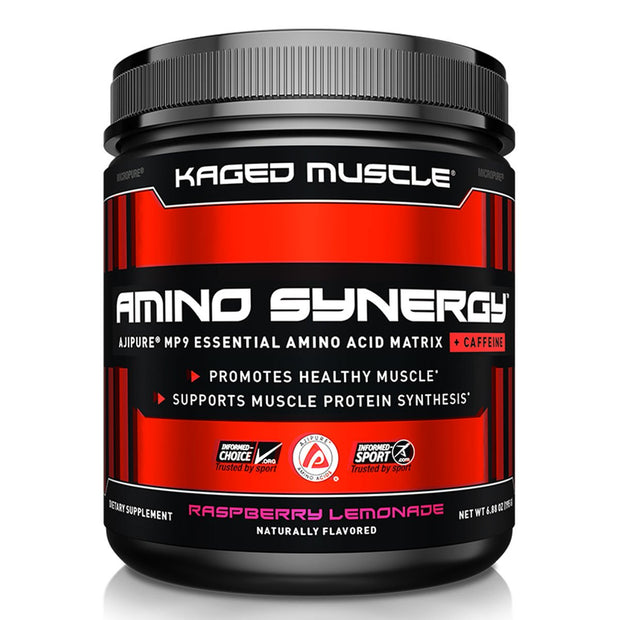 Kaged Muscle Amino Synergy Amino Acids with caffeine