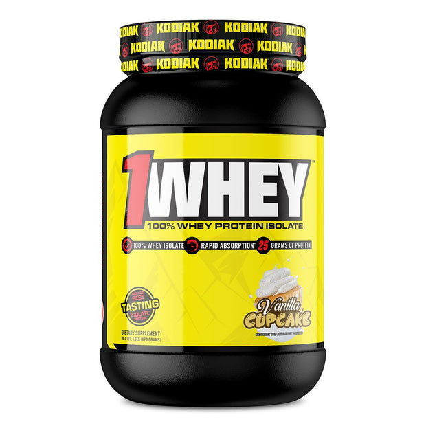 Kodiak Supplements 1Whey Protein Vanilla Cupcake