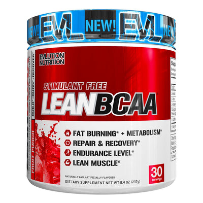 EVL Nutrition LeanBCAA Fruit Punch