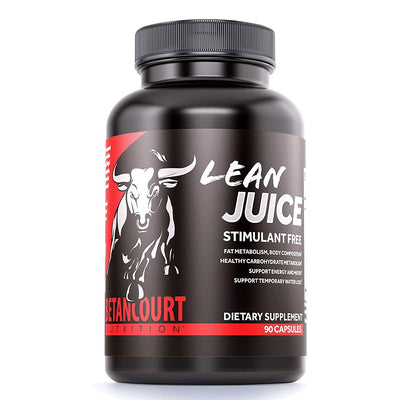 Betancourt Nutrition Lean Juice Stimulant Free Weight Loss