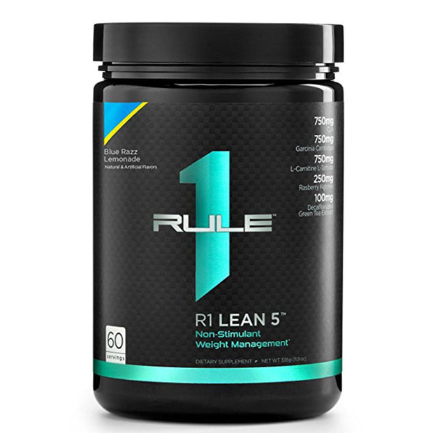 RuleOneProteins R1 Lean5 Fat Burner Blue Razz Lemonade