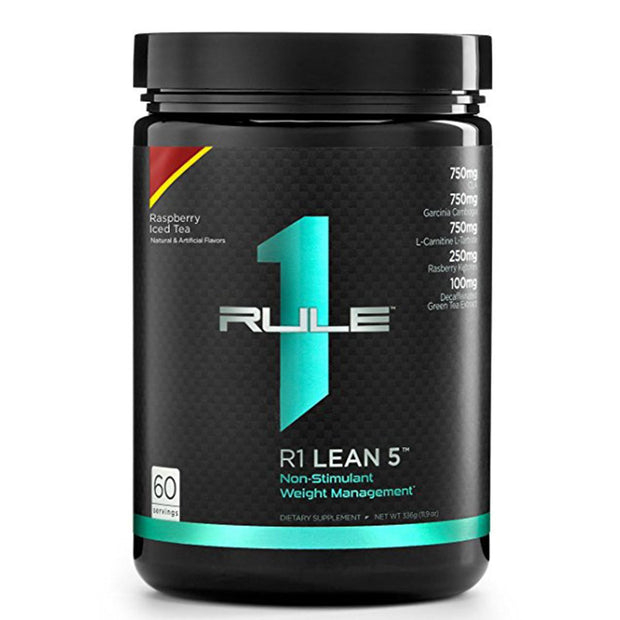 RuleOneProteins R1 Lean5 Fat Burner Raspberry Ice Tea