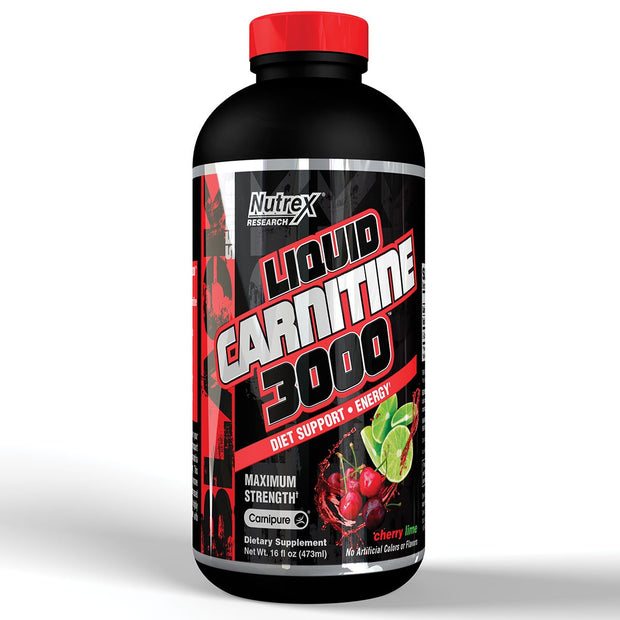 Nutrex Liquid Carnitine 3000 Cherry Lime