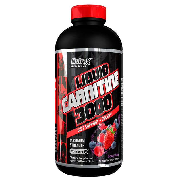 Nutrex Liquid Carnitine 3000 Berry Blast