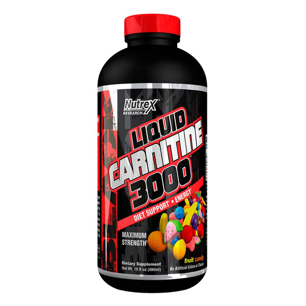 Nutrex Liquid Carnitine 3000 Fruit Candy