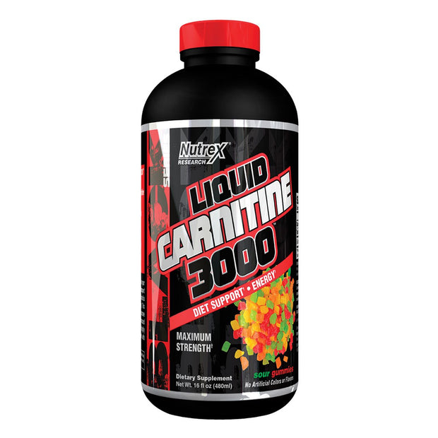 Nutrex Liquid Carnitine 3000 Sour Gummies