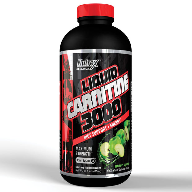 Nutrex Liquid Carnitine 3000 Green Apple