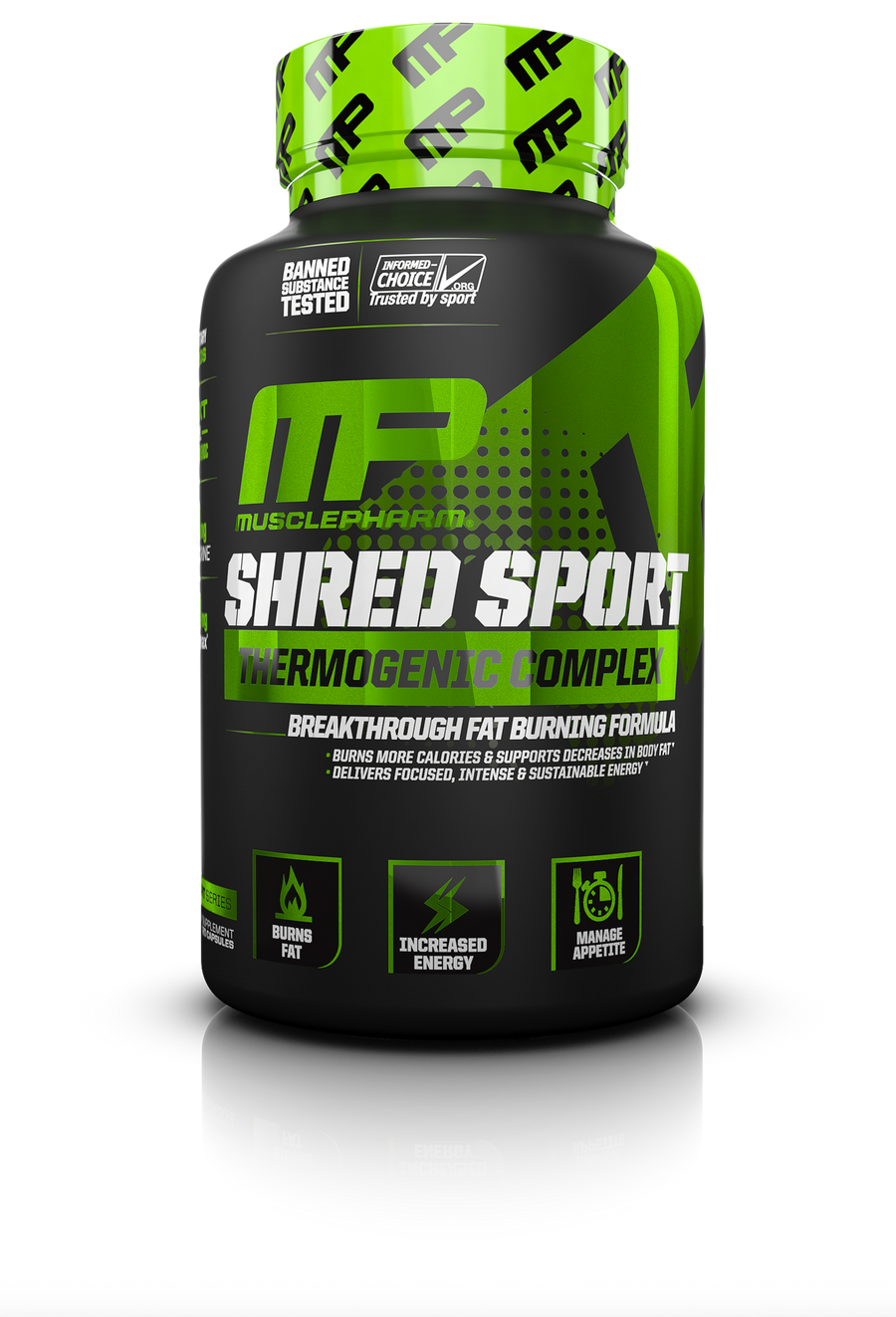 Musclepharm Shred Sport Fat Burner