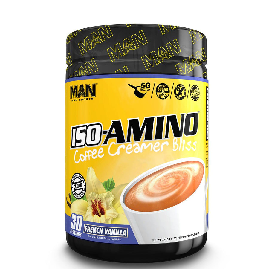 Man Sports Iso Amino Coffee Creamer Bliss Pumpkin Spice