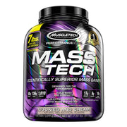 Muscletech Mass Tech Mass Gainer Protein Cookies and Cream