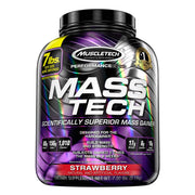 Muscletech Mass Tech Mass Gainer Protein Strawberry