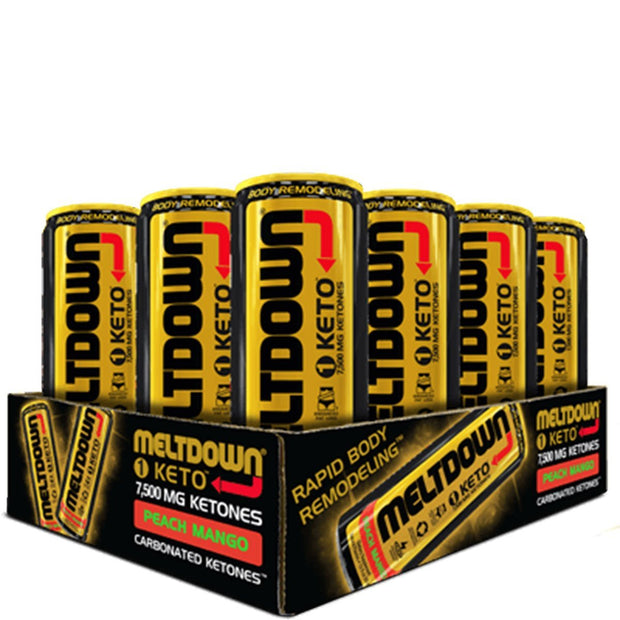 VPX Meltdown Keto Energy Drink Peach Mango