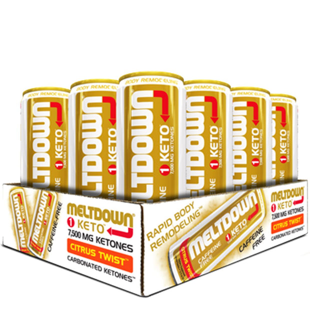 VPx Sports Meltdown Keto Caffeine Free Citrus Twist