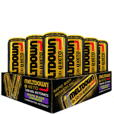 VPX Meltdown Keto Energy Drink Grape Blade Lemonade