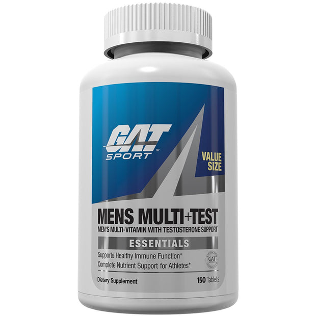 Gat Sport Mens Multi plus Test 150 Count Value Size