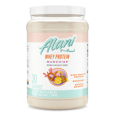 Alani Nu Whey Protein Powder Supplement l for Women l Meal Replacement l Munchies
