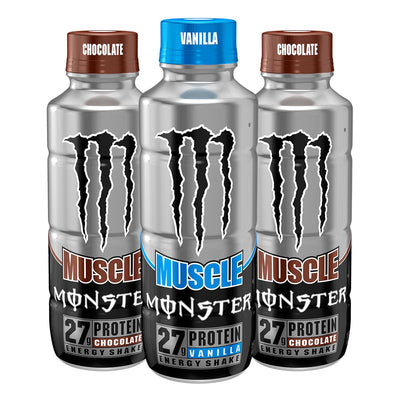 Monster Energy Muscle Monster Protein Energy Shake Bottle