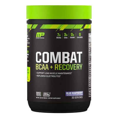 MusclePharm Combat BCAA + Recovery Blue Raspberry