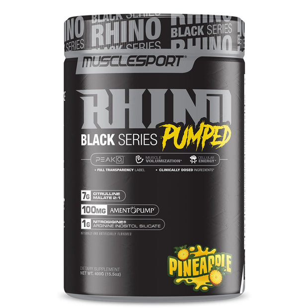 Musclesport Rhino Black Pumped Pineapple