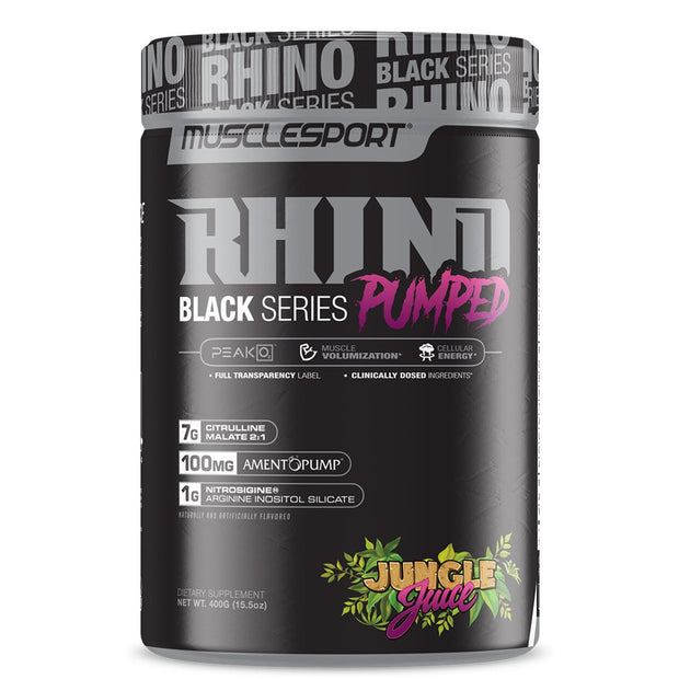 Musclesport Rhino Black Pumped Jungle Juice