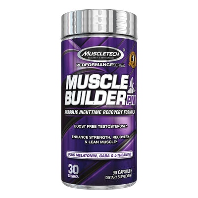 Muscletech Muscle Builder PM Nighttime Supplement