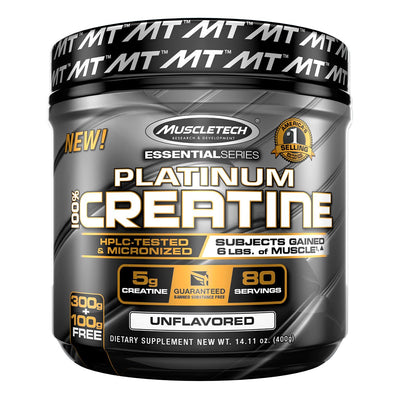 Muscletech Platinum Creatine Monohydrate Supplement