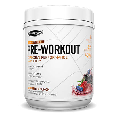 Muscletech PEAK Series Pre Workout Supplement