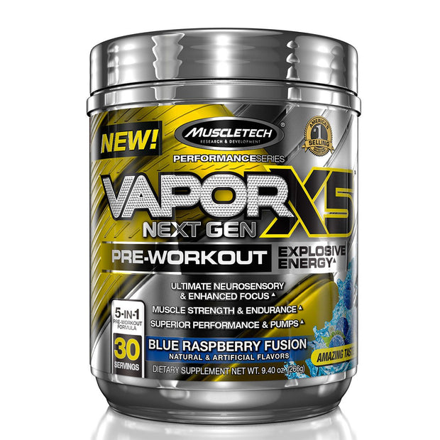 Muscletech Vapor X5 Blue Raspberry