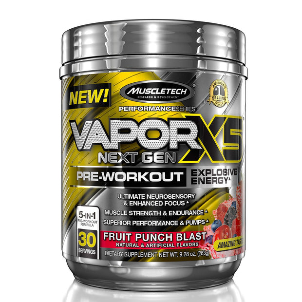 Muscletech Vapor X5 Fruit Punch